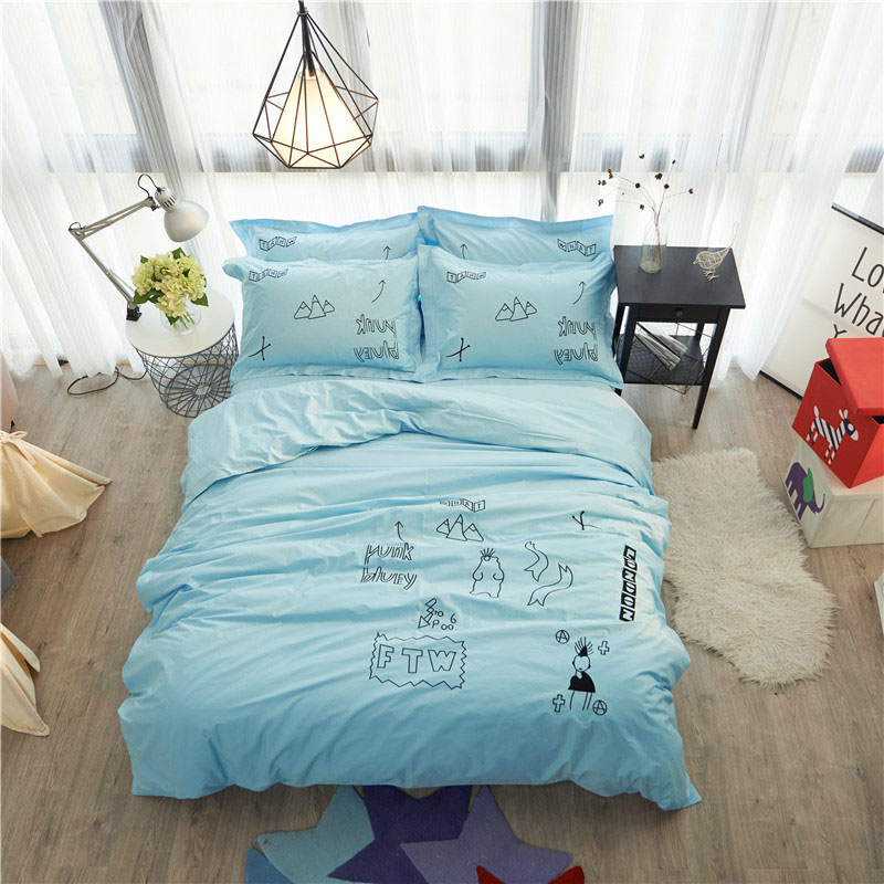 home textiles cotton 4 piece bedding set embroidered queen duvet cover sets twin king size bed sheet free shippinghome textiles cotton 4 piece bedding set embroidered queen duvet cover sets twin king size bed sheet free shipping