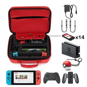 Image 4 - Pokeball 닌텐도 스위치 케이스 액세서리 Pokemons Nintendoswitch 스토리지 핸드 가방 Nintendos 패션 게임 Poke Ball Plus Bag