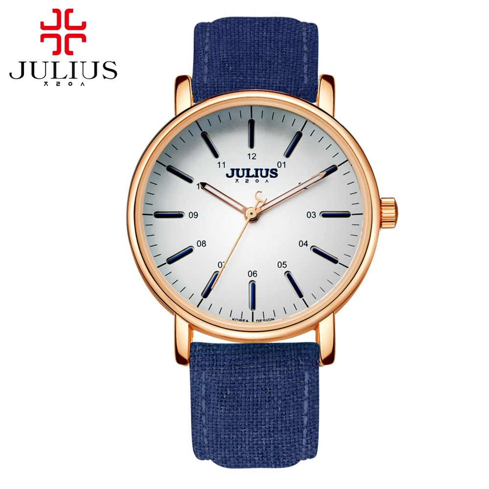 Classic simple fashion women dress love casual quartz round watch leather steel quality gift watches Top