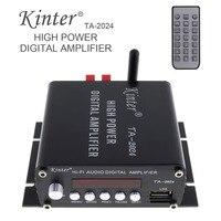 TA2024A 15W X 2 HiFi Class T Auto Car Power Amplifier Stereo Audio Digital Player Support