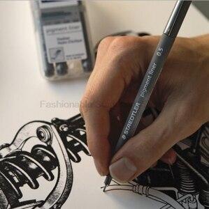 Image 4 - STAEDTLER 308 SB6P 6 psc Art Marker Penne set A Base di Acqua Inchiostro Creativo set di materiale scolastico Uffici