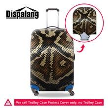 Dispalang Élastique Bagages Housse De Protection Animal Serpent Motif Valise Couverture Pour 18-30 Pouce Chariot Cas Voyage Accessoires
