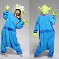 Adulto Unisex Onesies Anime Cosplay con Capucha Toy Story Aliens Pijamas Polar