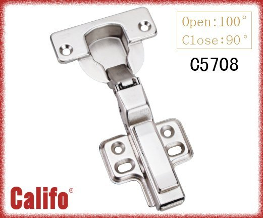 40mm cup clip-on door hinge/soft closing cabinet hinge