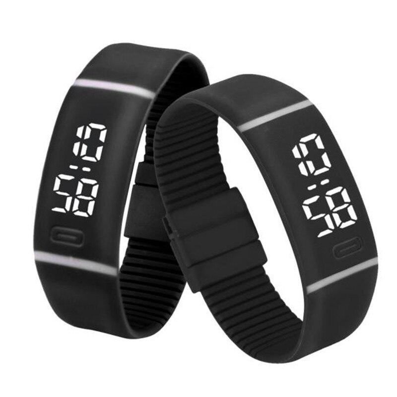Splendid Luxury Electronic Watch Watches Mens Womens Silicone LED Watch Date Sports Bracelet Digital Wrist Watch