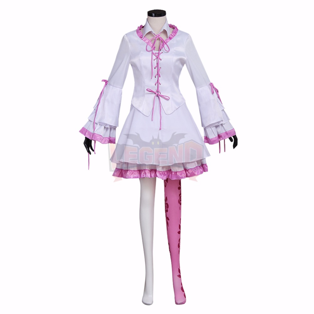 Tekken 7 Lili cosplay Emilie de Rochefort Dress Cosplay Costume adult costume full set custom made