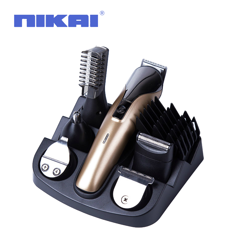 multifunctional electric hair trimmer grooming kit nose ear beard clipper mustache trimmers. Black Bedroom Furniture Sets. Home Design Ideas
