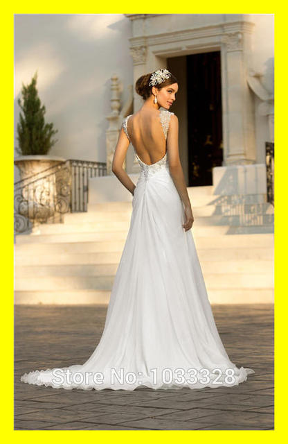Flowy Wedding Dresses Sheath Floor Length Court Train Pleat Sweetheart Cap Sleeve Sleeveless Natural Backless