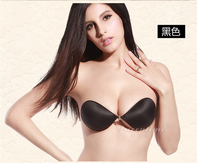 e03afb94c4 New arrive Women Push Up LIFT Self-Adhesive Silicone Closure Backless  Strapless Invisible Bra seamless bras