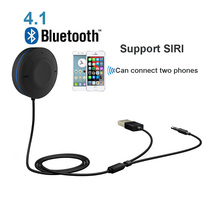 Handsfree Bluetooth Car Kit Bluetooth 4.1 Receiver Aux 3.5mm Audio Output A2DP Wireless Bluetooth Car MP3 Player Receiver