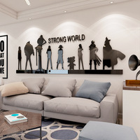 Cartoon Vintage Paper Anime One Piece Poster Home Decoration Wanted Boys Gift One Piece Action Figure Poster Craft Wall Sticker