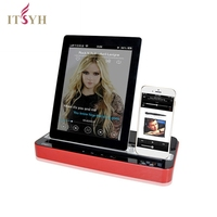 Ipega Dual Docking Station Charger Adapter Speaker Stand For IPad IPhone 6 IPod Samsung S5 I9600