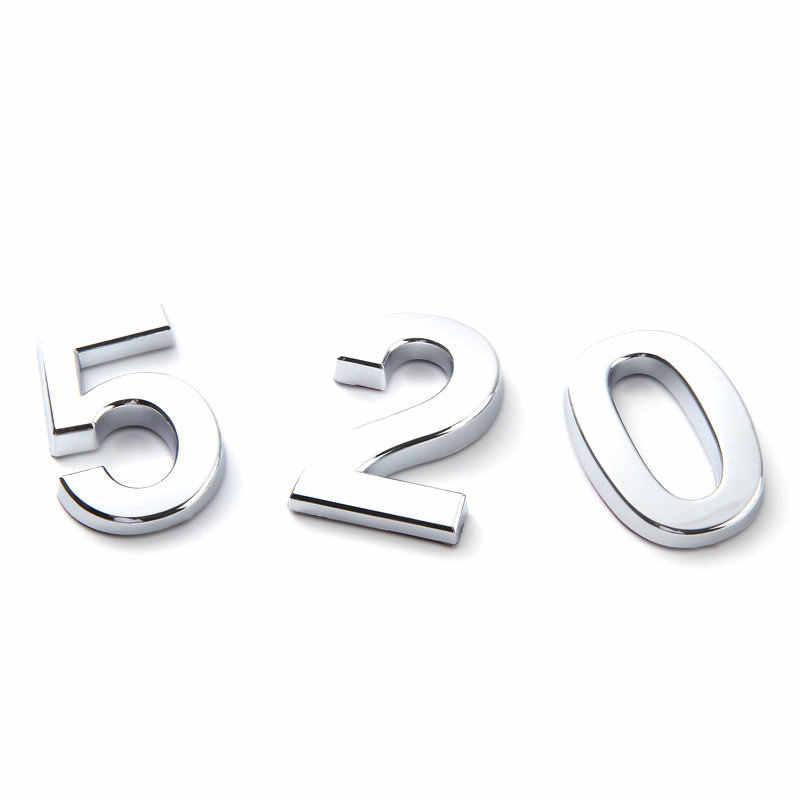Material plástico ABS de 5/7CM digital 0-9 hall piso digital signage portal hotel Chapado en número de casa número de placa