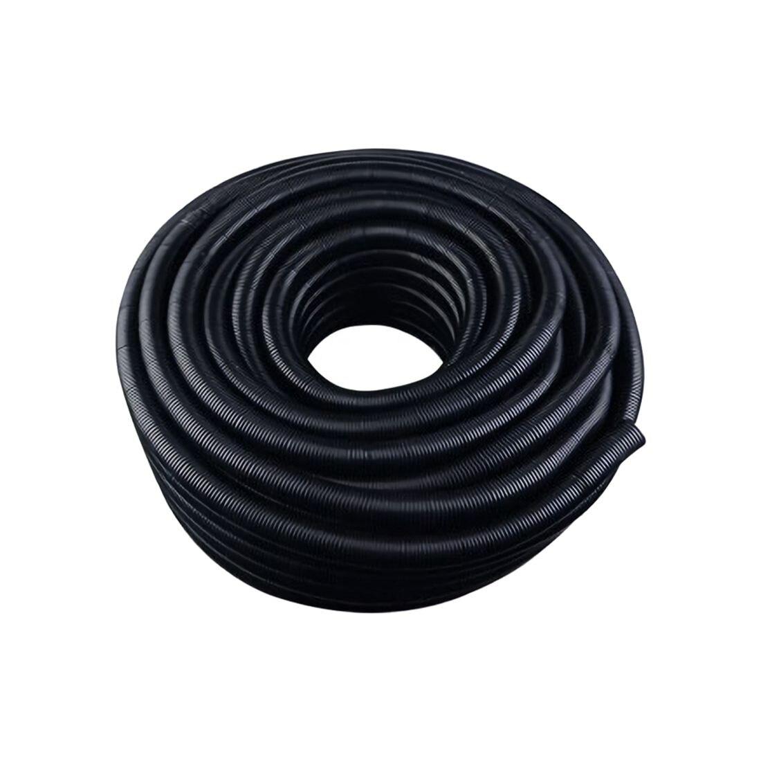 50 Ft 5/8 inch IN Split Wire Loom Conduit Corrugated Polyethylene ...