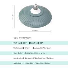 Modern LED Pendant Light Industrial Hanging Lamp Pot E27 220V Lighting Fixture Dining Room Restaurant Bar Cafe Counter Decor