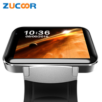 Men Women Smart Watch Clock Smartwatch ZW68 Wristwatch Support 2G 3G SIM Card Phone Call Camera