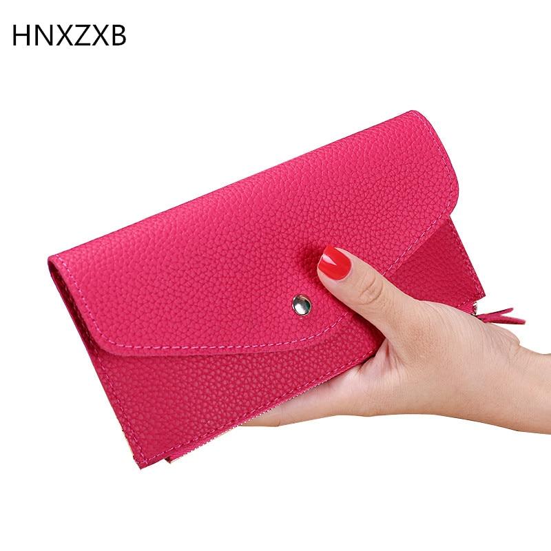 Fashion Women Long Wallet Multiple Card Holder Envelope Purse Ladies Zipper Hasp Money Bag Clip Female Handbag wallet