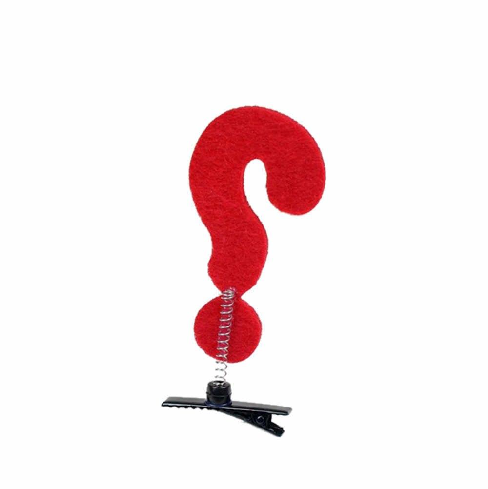 2 ヘアクリップ Pinzas パラエル cabello おかしいイエロー赤矢印記号はクリップスプリングクリップ女性ガール子供ヘアピン 8W1