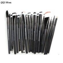 20pcs Clean Brush Makeup Foundation Powder Brush Makeup Tool Mascara Brush Eyeshadow Eyeliner Lip Kit Pinceis Maquiagem#A11