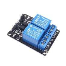 free shipping 1pcs 2 channel relay module 5V 2-channel