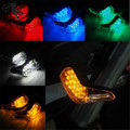 5 colors available colorful light motorcycle turn signal light LED universal motorbike indicator amber blinker lamp personality