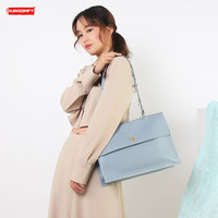 New A4 file package women handbags fashion portable briefcase large capacity tote bag leather female big computer shoulder bag