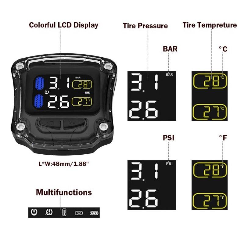 Sistemas de monitoramento de pressão dos pneus