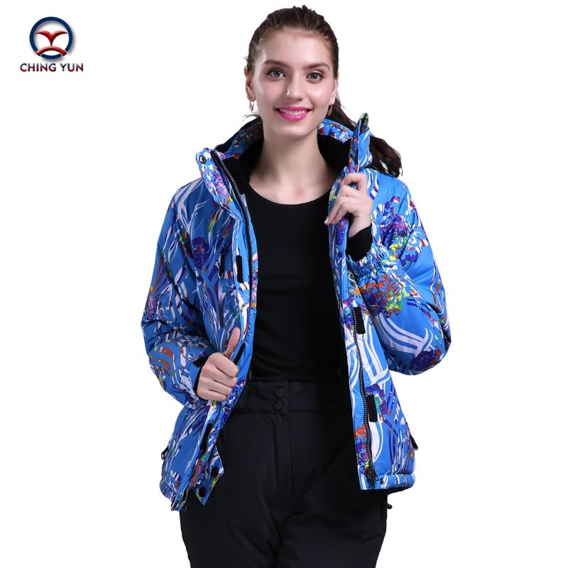 2016 winter women striped flower pattern cotton coat windproof waterproof thermal cotton coat jacket trousers casual sets цены онлайн