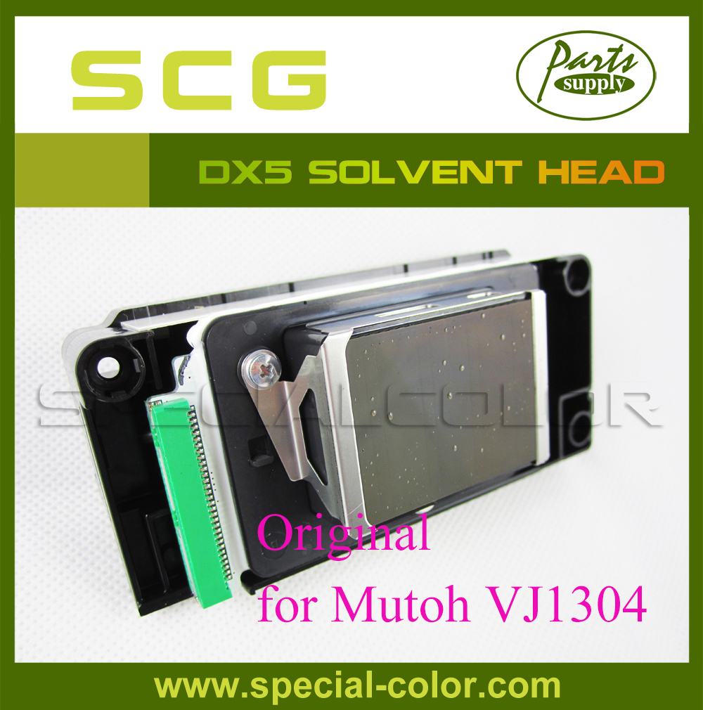 DX5 original Printhead (solvent), green connector for Mutoh VJ1304 Eco Solvent Head (Part Number:DF-49684)
