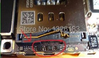 60pcs/lot, For iPhone 5 5G Q3 U3 DZ101_RF IC chip remove