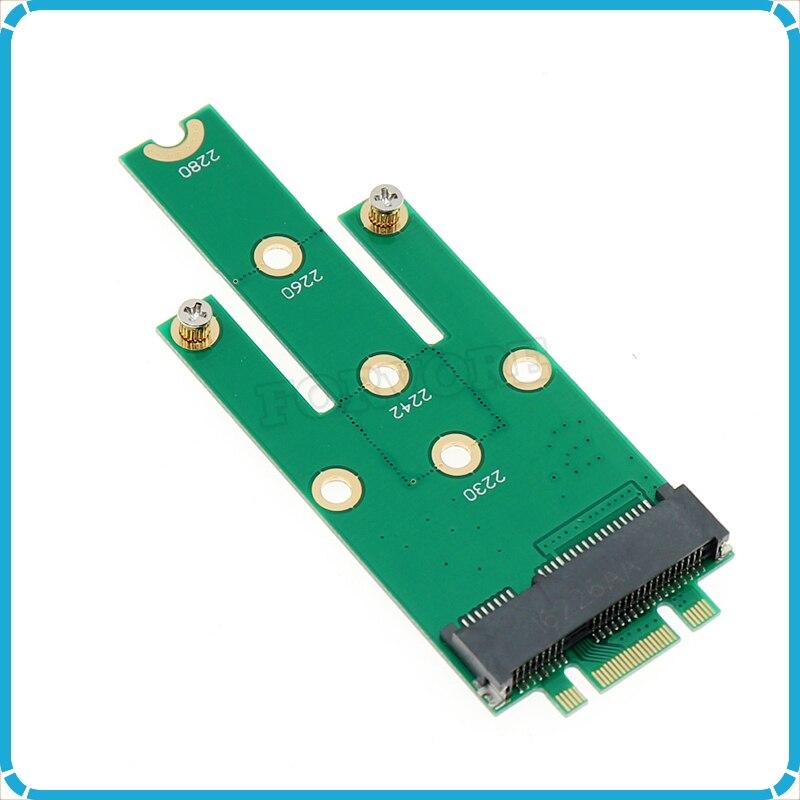 New mSATA Mini PCI-E 3.0 SSD to NGFF M.2 B (SATA interface) adapter card