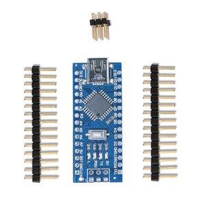 Image 3 - 10 stücke NANO 3,0 controlador kompatibel con arduino NANO CH340 turno USB controlador ninguna KABEL V3.0 NANO für Arduino