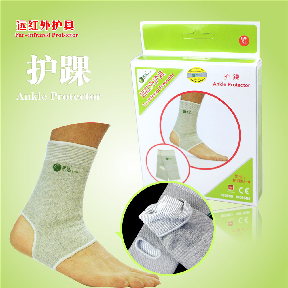 Kangzhu Far Infrared Ankle Protector Men Women Medical Arthritis Old Cold Legs foot Breathable Warm Protective Gear Self heating