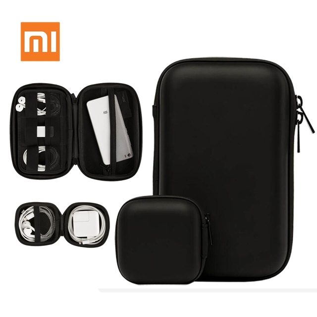 Xiaomi HX Digital Storage Box Earphone Storage Case Multifunctional for Headphone Accessories Earbuds Memory Card USB Cable B D5