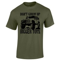 Summer Don T Grow Up Just Buy Bigger Toys T Shirt Funny 4X4 Off Road Mudding