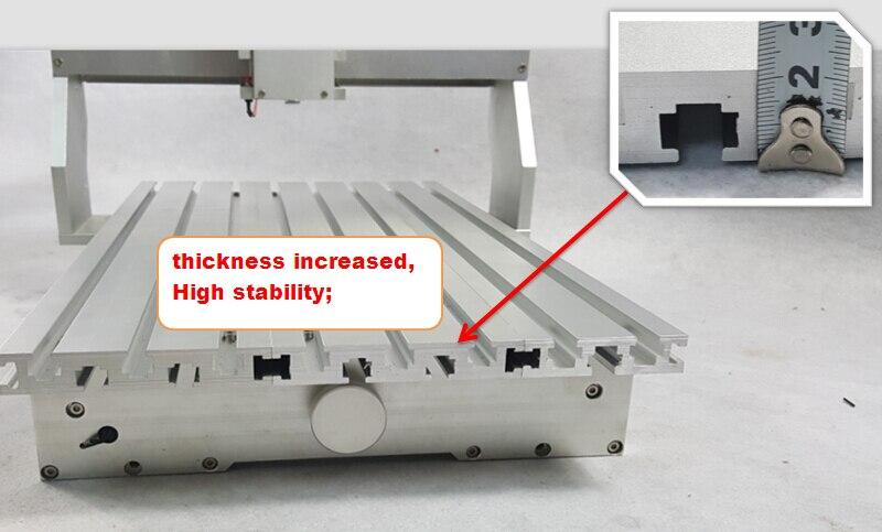 """Pigi kaina """"pasidaryk pats"""" CNC maršrutizatoriaus rėmo tekinimo - Medienos apdirbimo įranga - Nuotrauka 3"""