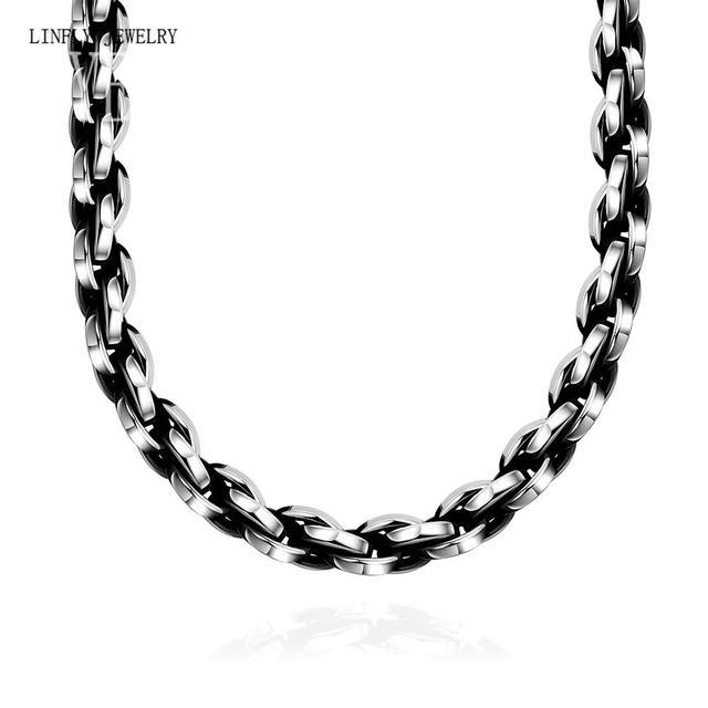 03ae1e1963ca Envío de acero inoxidable 316L de la cadena de moda de la vendimia de  titanio 11