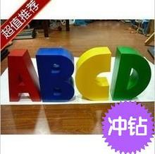 Just Arrival English alphabet letters photo studio props decoration wedding party props ABCD letters props CD50