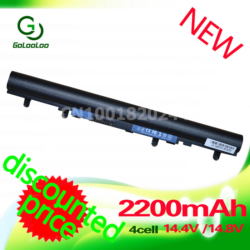 Golooloo 2200mAh Laptop Battery For ACER Aspire AL12A32 V5 V5-571G V5-471 V5-471G V5-471P V5-531 V5-551 V5-571 V5-571P V5-571PG цена