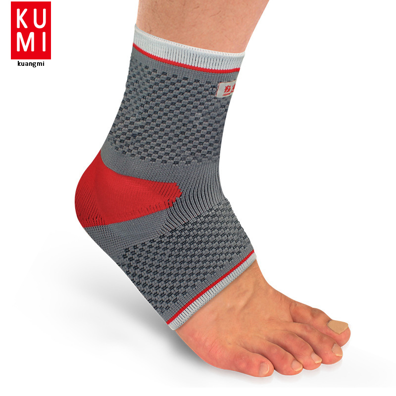 Grey Ankle Bandage MEN Ankle Brace Support WOMEN Sports Foot Stabilizer Pain Ankle Guard Strap Wrap Sprain Basketball shuoxin sx662 sports basketball elastic ankle foot brace support wrap black