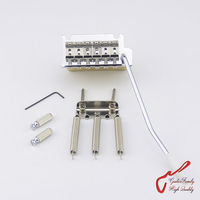 Super Quality Chrome 2 Point Vintage Style Tremolo System Bridge With Brass Block For Fender Strat