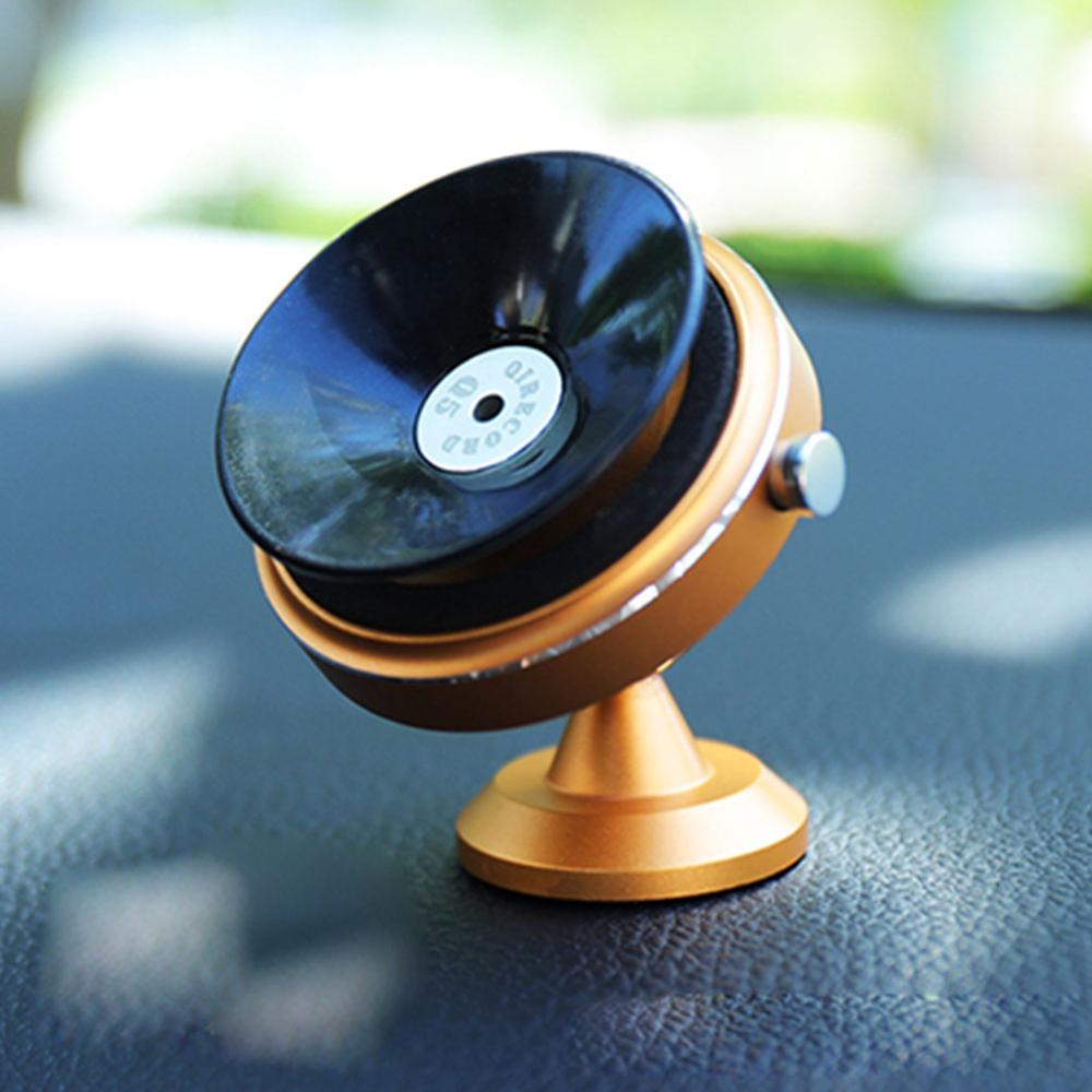 Car Phone Holder Vacuum Suction Cup Vented Mobile Phone Air Outlet Mount 360 Degrees Rotation Induction Stand Phone Accessories