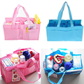 Mummy Bag Bottle Storage Multifunctional Separate Bag,Nappy Maternity Handbag Baby Tote Diaper Organizer