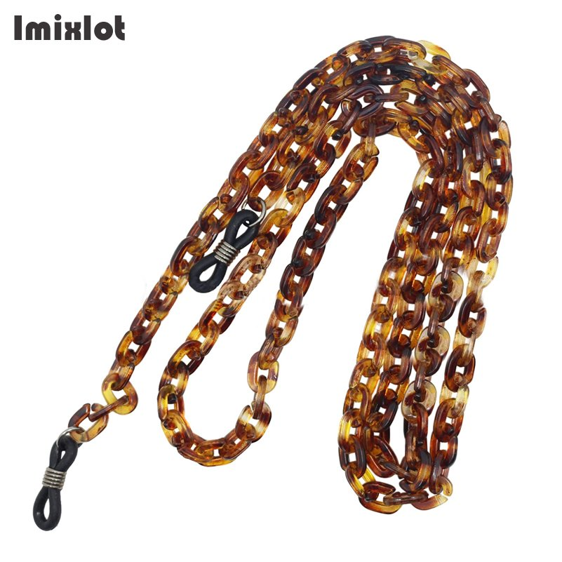 New Fashion Womens Amber Eyeglass Chains Eyewears Accessories Sunglasses Reading Glasses Chain Cord Holder Neck Strap Rope