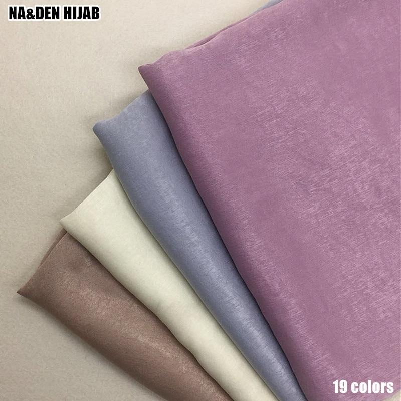 2019 NEW shimmer design scarf soft silklike fabric hijab scarfs fashion women scarves and shawls shimmer