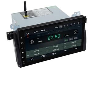 Image 3 - 9 インチの Hd タッチスクリーンアンドロイド 9.0 車の dvd プレーヤー、 bmw E46 M3 Wifi 3 グラム GPS Bluetooth ラジオ RDS ステアリングホイールコントロールマップ