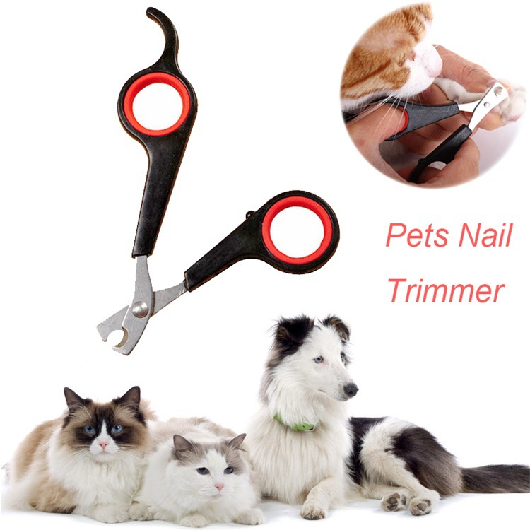 Dog Cat Puppy font b Pet b font Grooming Scissors Professional Stainless Steel Nail Clipper Animal