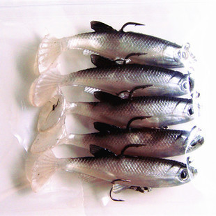 14g/80mm Soft Fishing Lures Lead Head Fish Isca Artificial Wobbler Silicone Worm Shad Bait  Bass Carp Jigging Sea Fishing Tackle