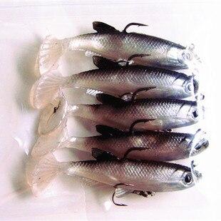 все цены на 14g/80mm Soft Fishing Lures Lead Head Fish Isca Artificial Wobbler Silicone Worm Shad Bait Bass Carp jigging Sea Fishing Tackle