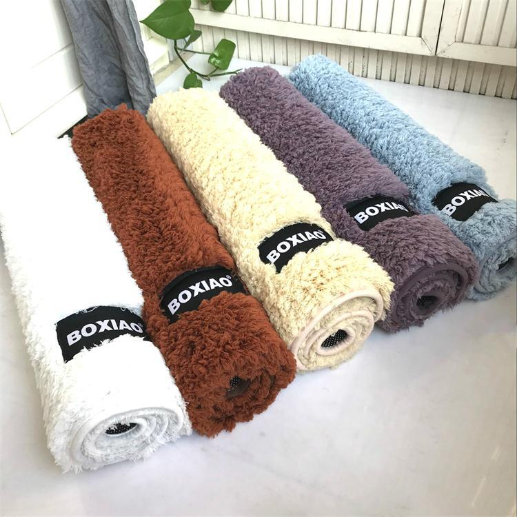 Bathroom Door Mats Entry Door Mats Bedroom Carpets Kitchen Absorbent Mats  Rugs And Carpets For Home Living Room White Rug